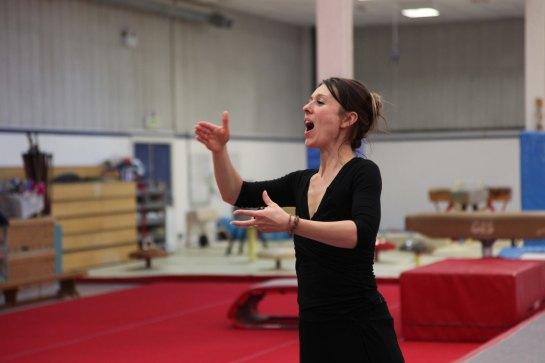 Jen Conducting Gymnast
